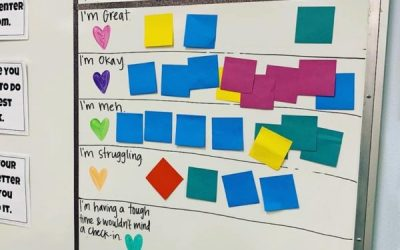 Teacher Displays Creative Way to Check in on Students Having a 'Hard Time'