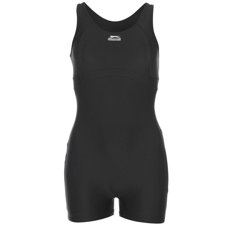 black swimsuit shorts slazenger