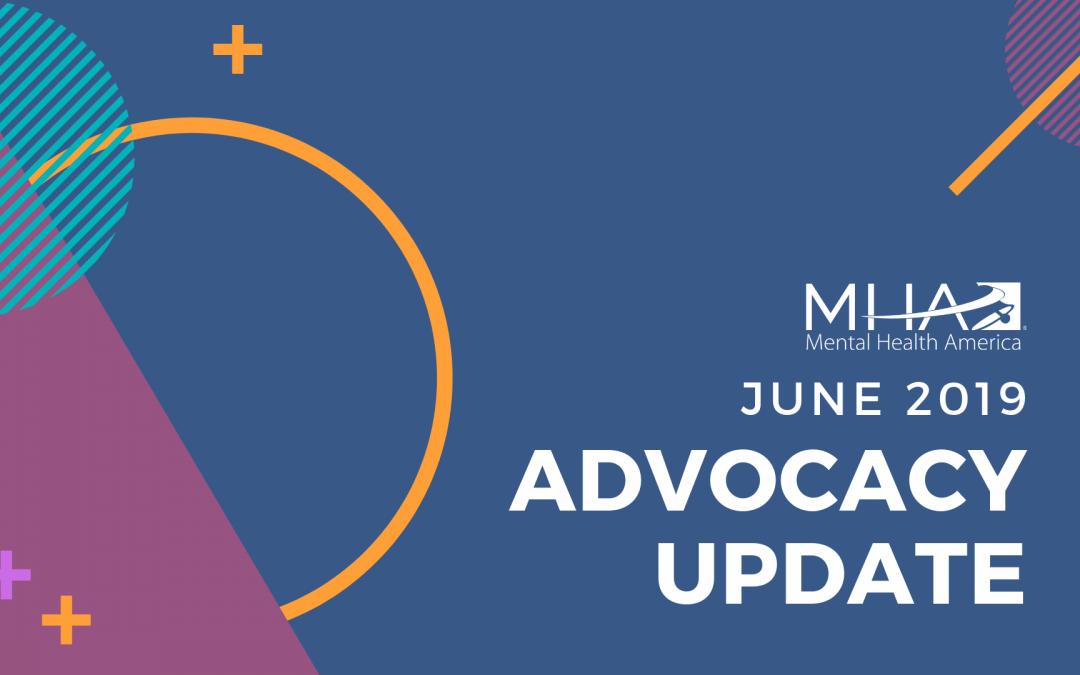 Advocacy Update: June 2019