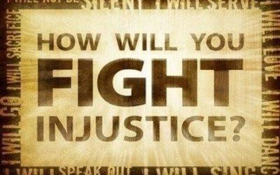 We will no longer tolerate injustice in America