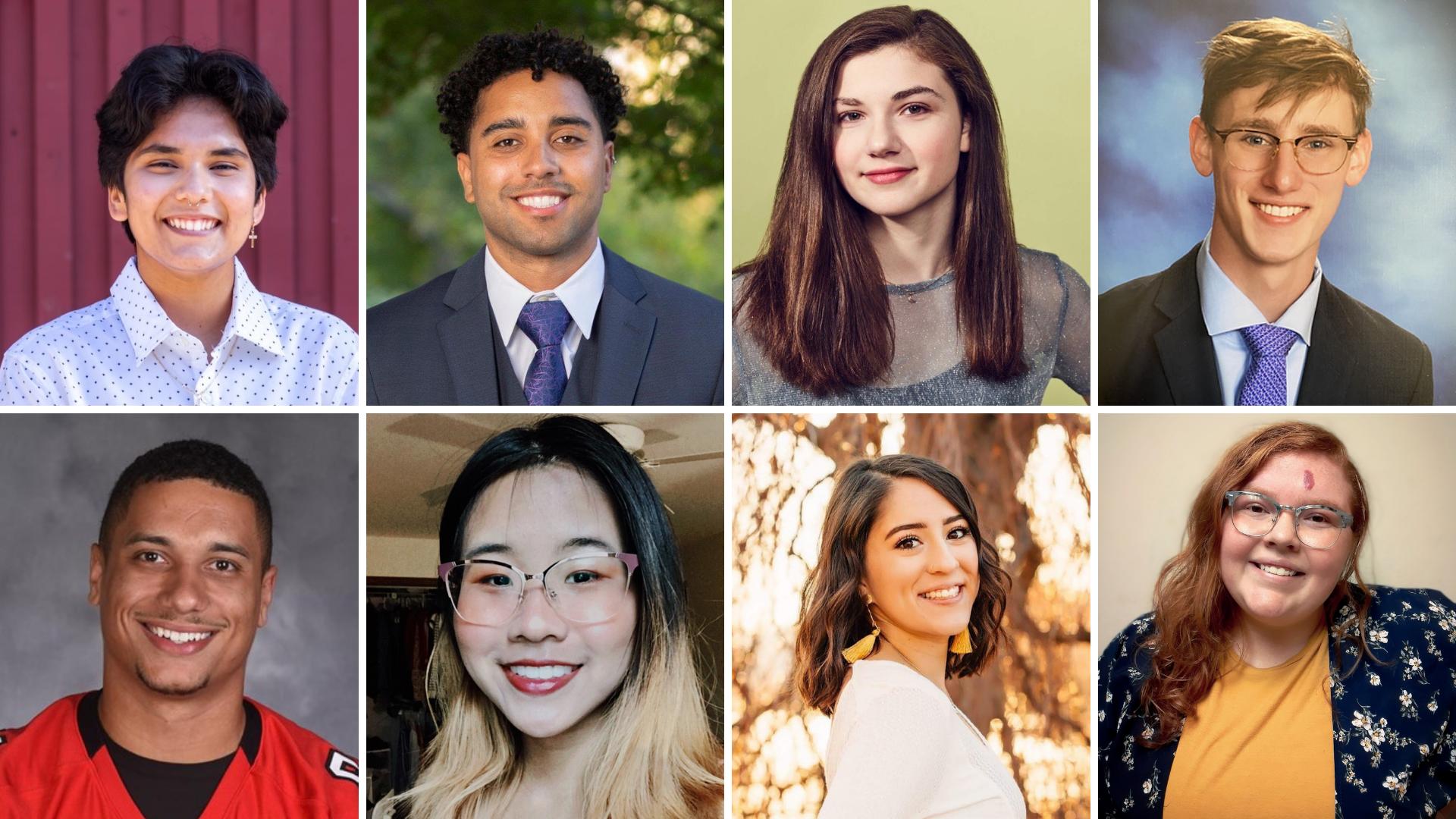 8 student leaders